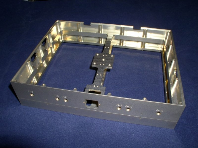 Aluminum stacking electronics housing