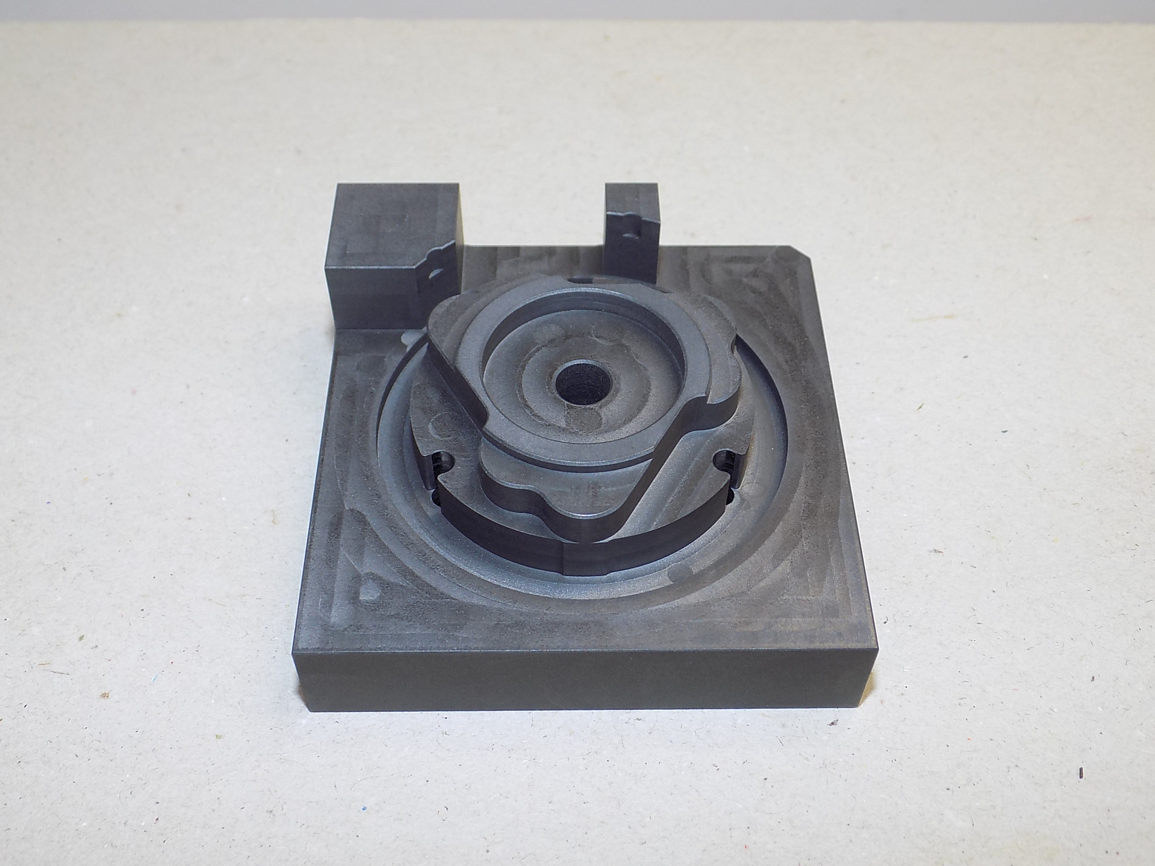 graphite braze fixture- bottom