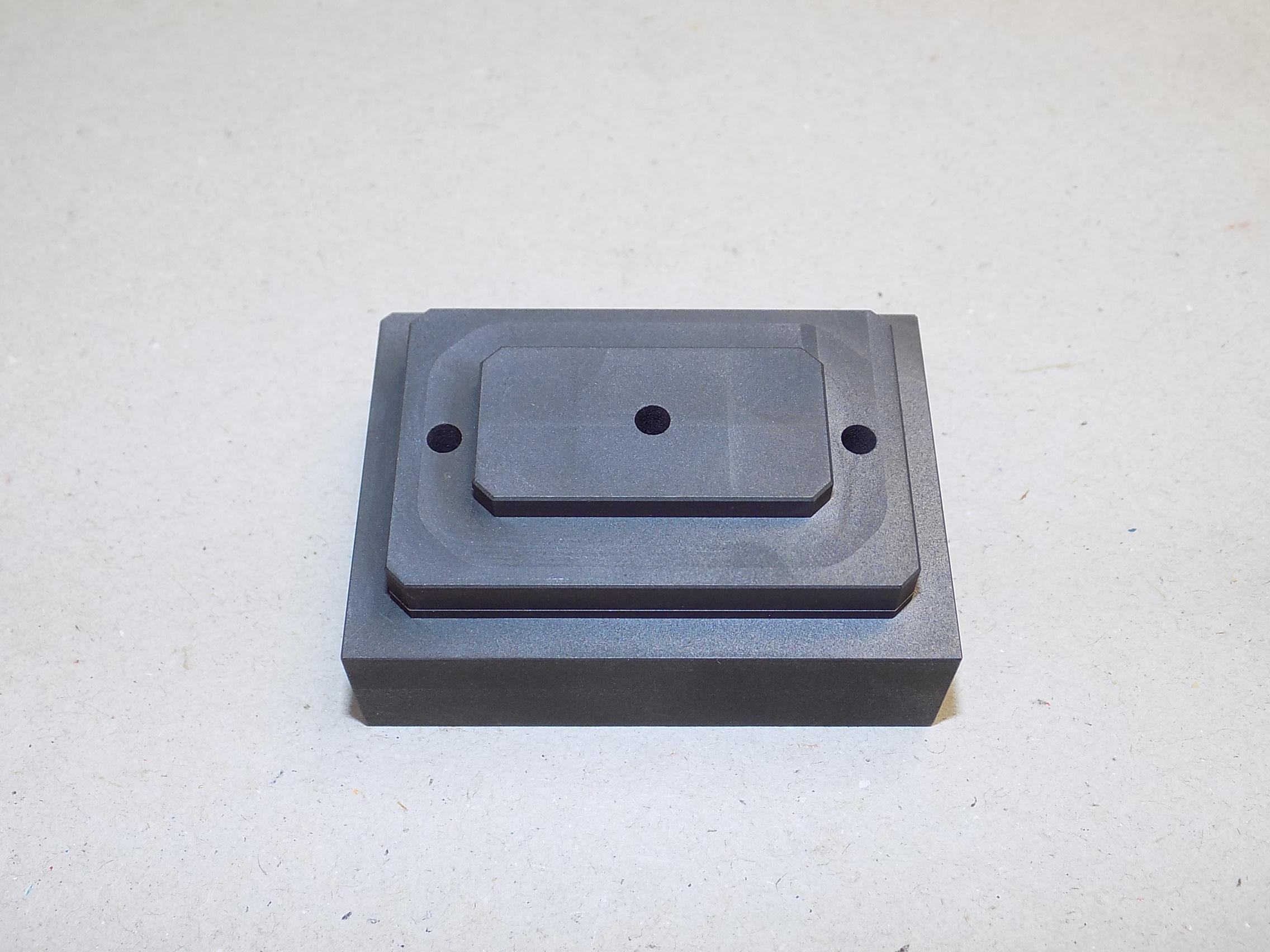 graphite braze fixture