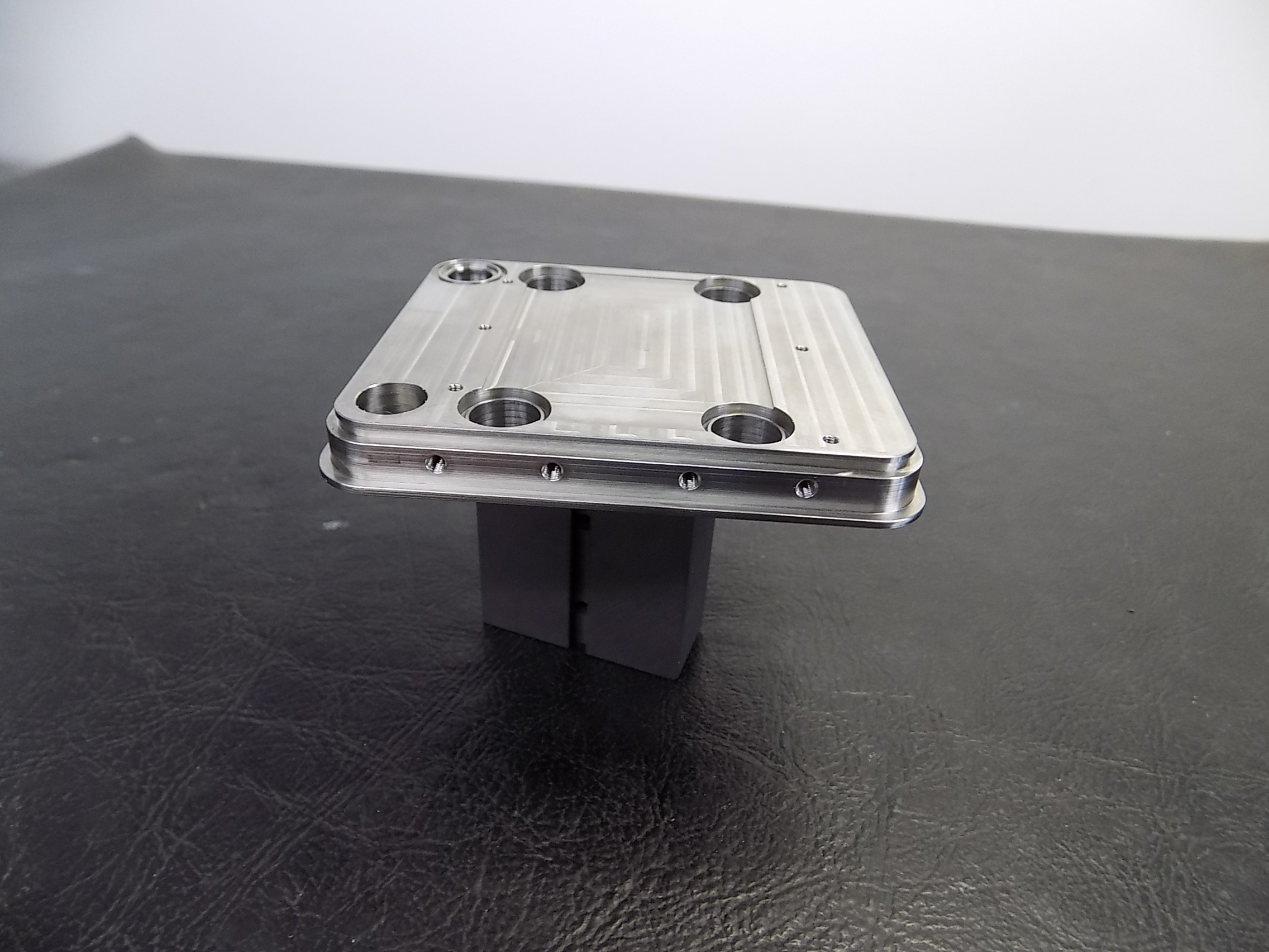 304 SST vacuum housing backplate