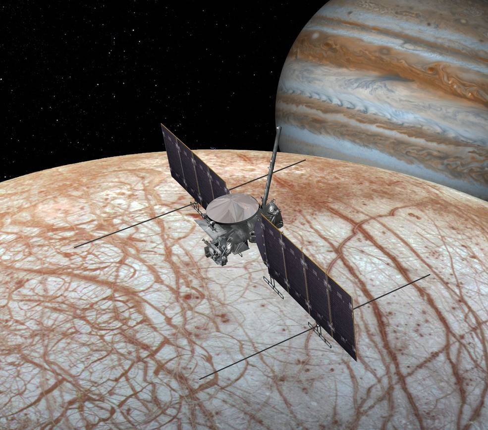 EUROPA spacecraft