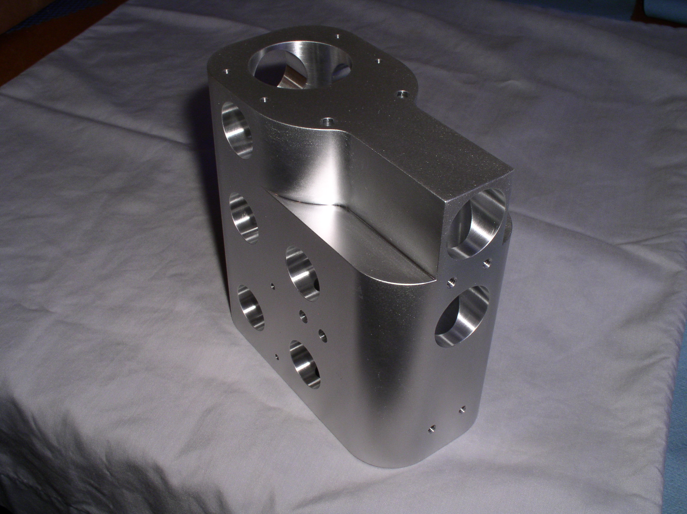 aluminum optical housing