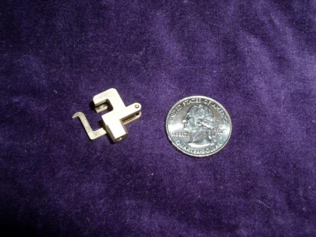 Aluminum bronze latch component