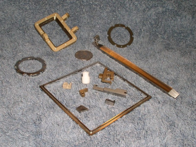 Assorted small parts